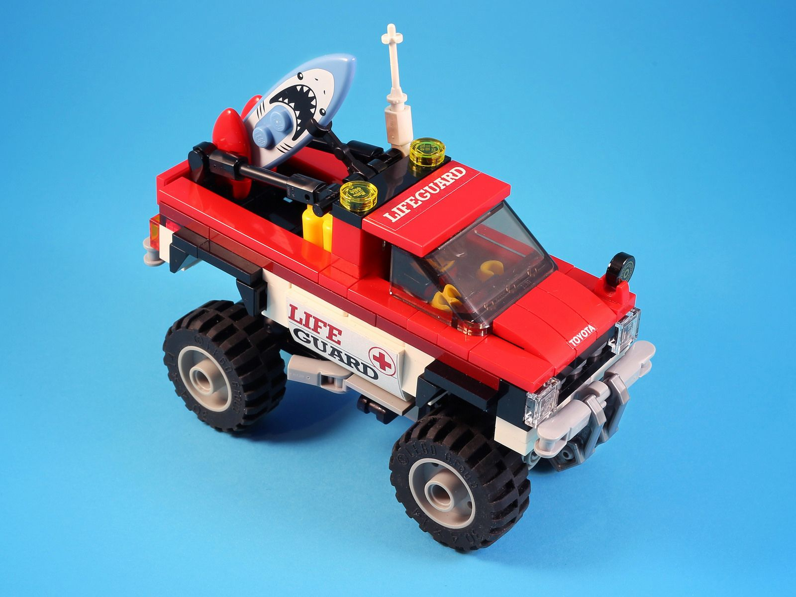 Lifeguard Car Lifeguard Lego And Legos