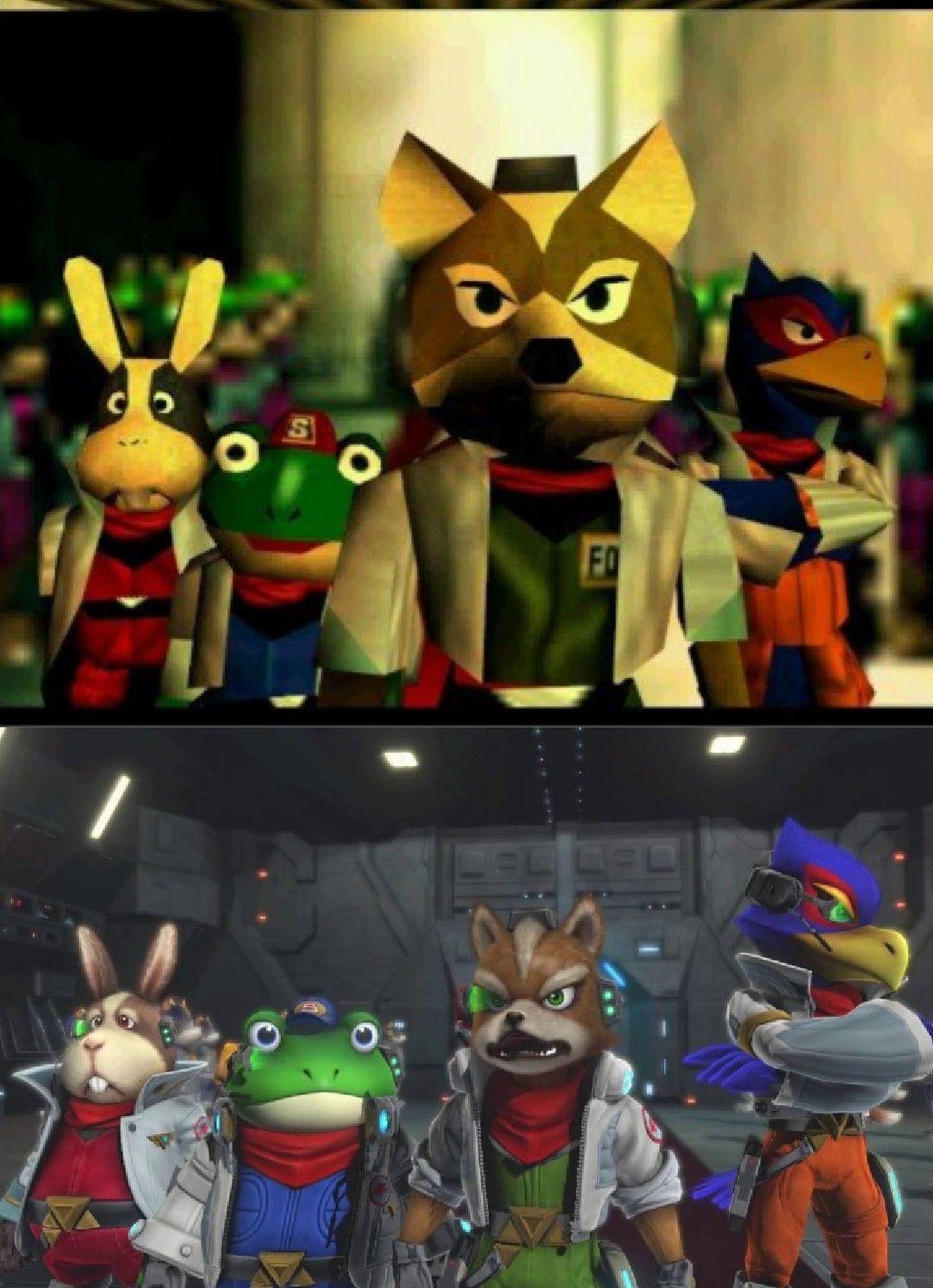 Star Fox 64 Lylat Wars Star Fox Zero Star Fox Star Fox 64 Fox Character