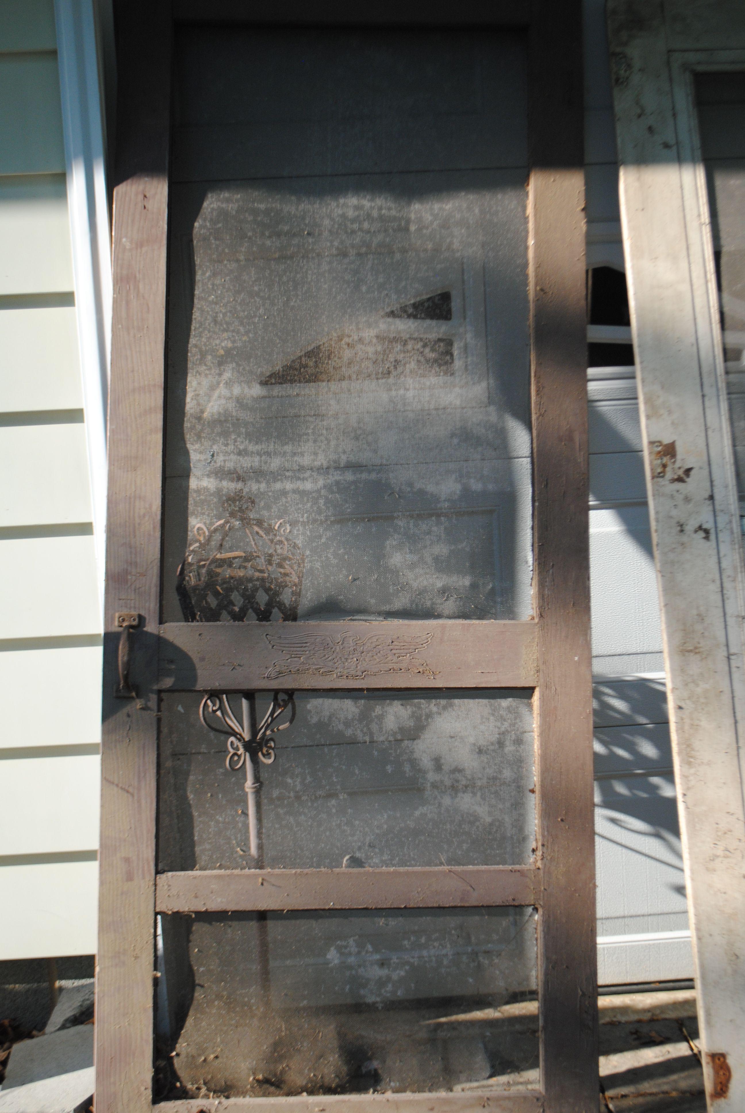 Screen Door Old Solid Wood Doors For Sale Pinterest Doors
