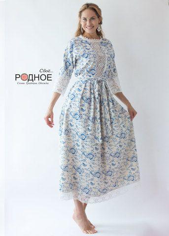 Платья в русском стиле иванка