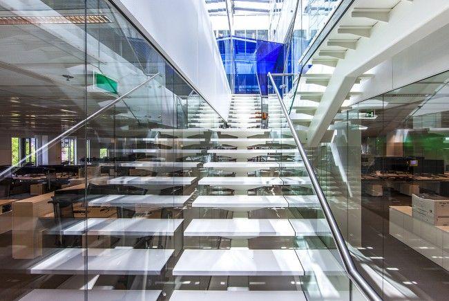 Rabobank dealingroom dealingroom office interior design and