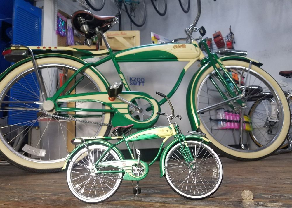 1987 Reproduction Green & Cream Columbia 5 Star RX-5 Bicycle