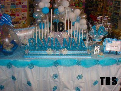 Winter Wonderland Decorations For Sweet 16 Long Island New