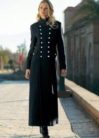 336dbc0546d Женское длинное пальто (130 фото)  с чем носить пальто в пол