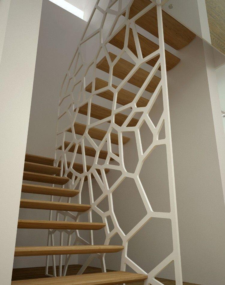 Moderne Treppengelander Fallschutz Absturzsicherung Treppenaufgang
