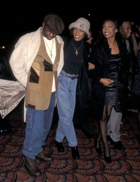 Bobby Brown Whitney Houston Brandy Norwood Wanya Morris Double Dating Whitney Houston Bobby Brown Whitney Houston Pictures