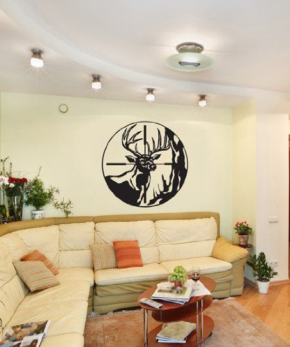 Vinyl Wall Decal Deer Scope Hunting GFoster105s Stickerbrand,http://www.amazon.com/dp/B004XMB6BI/ref=cm_sw_r_pi_dp_St79sb1YKJG5K2QK