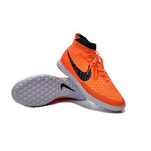 official photos dc1e0 3dcc7 Comprar Nike MagistaX P roximo Street TF Naranja Negro Blanco Botas De  Futbol Baratas