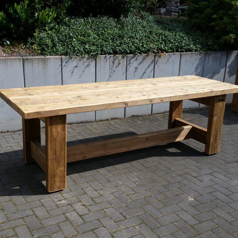 Tische Wertho Design Holztisch Garten Gartentisch Selber Bauen Selber Bauen Garten