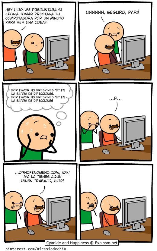 Cianuro Y Felicidad 08 05 2013 Cianuro Y Felicidad Memes Divertidos Dibujos Animados Divertidos