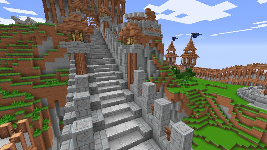 Staircase Design Minecraft Builds Minecraft