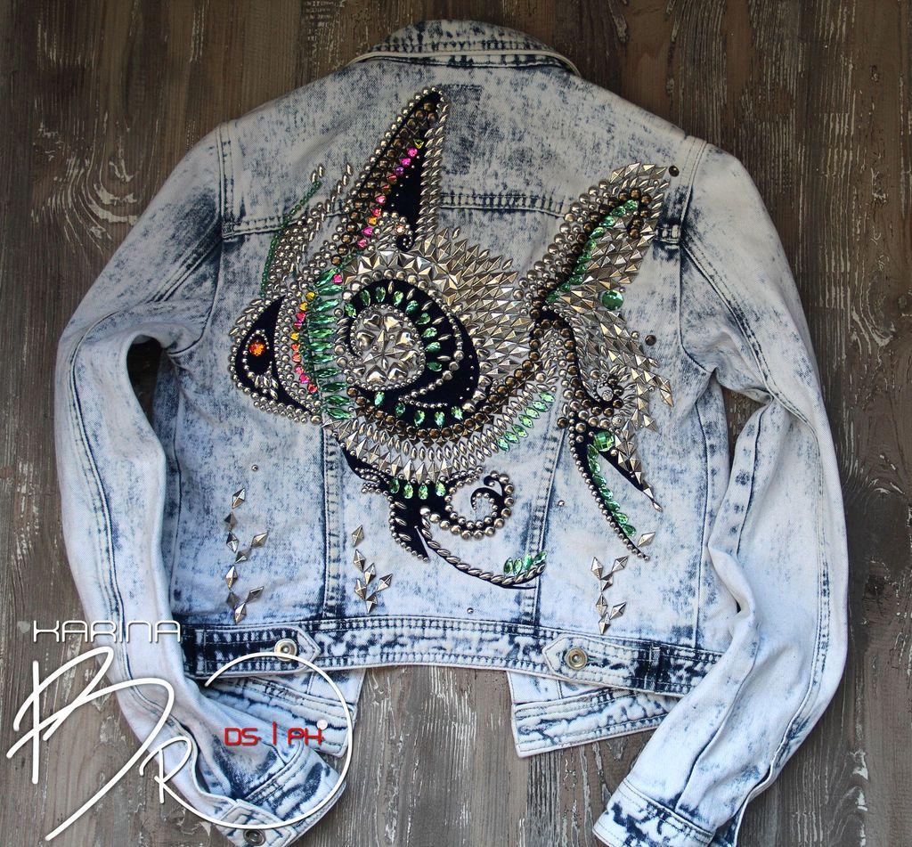 Купить Джинсовая куртка FiSH - джинса, джинсовый стиль, джинсовая куртка, стиль…