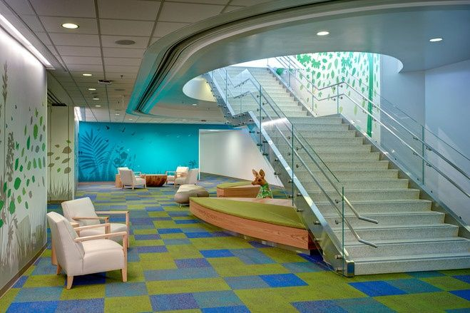 Common area, Nationwide Children's Hospital, Columbus, OH ...