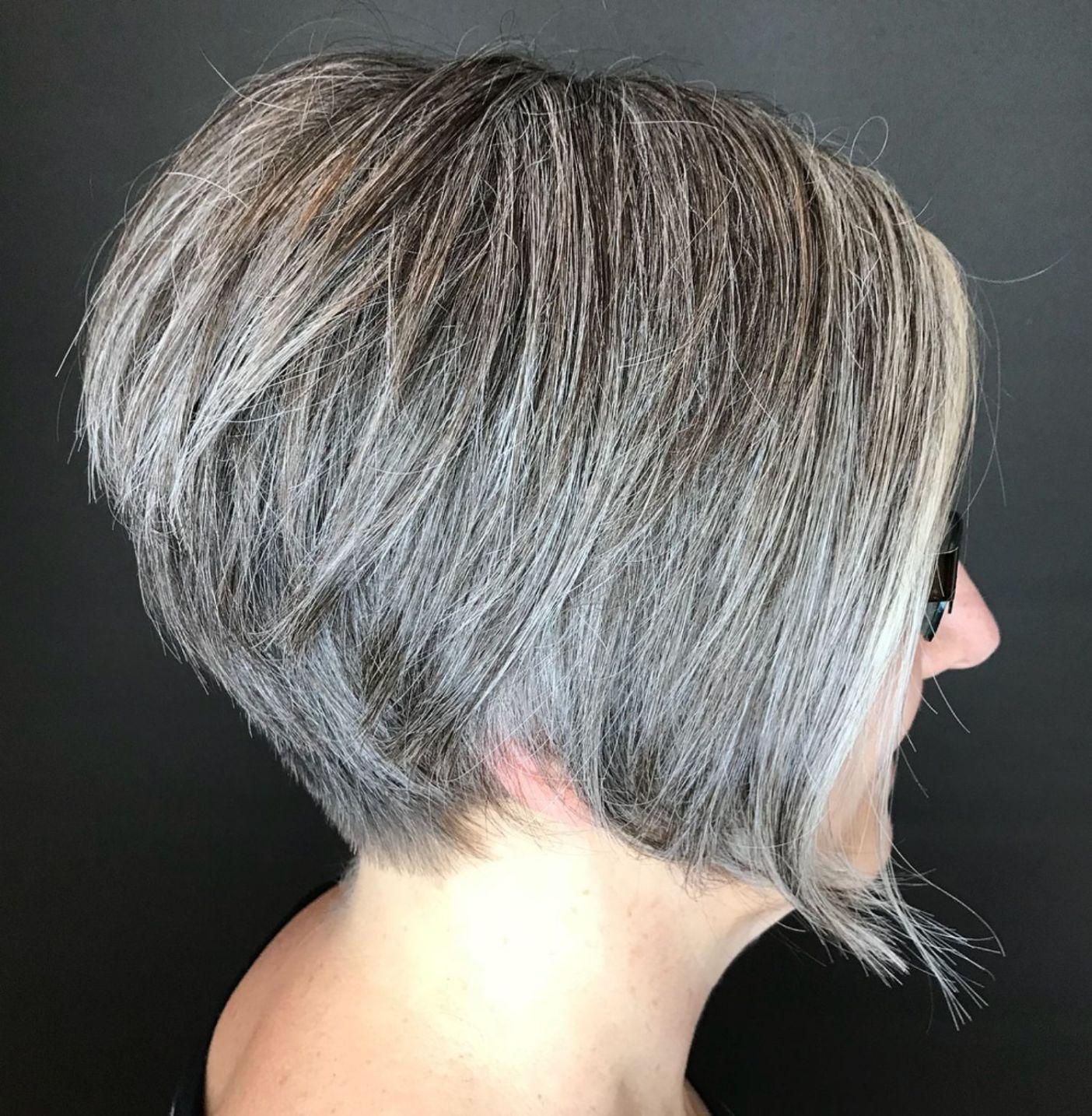 65 Gorgeous Gray Hair Styles Gorgeous Gray Hair Thick Hair Styles Hair Styles