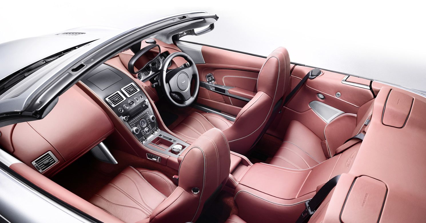 aston martin db9- interior | i've found a driver and that's a start