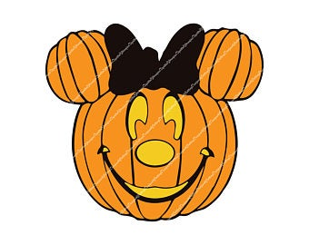 Halloween minnie svg Etsy Pumpkin head, Mickey pumpkin