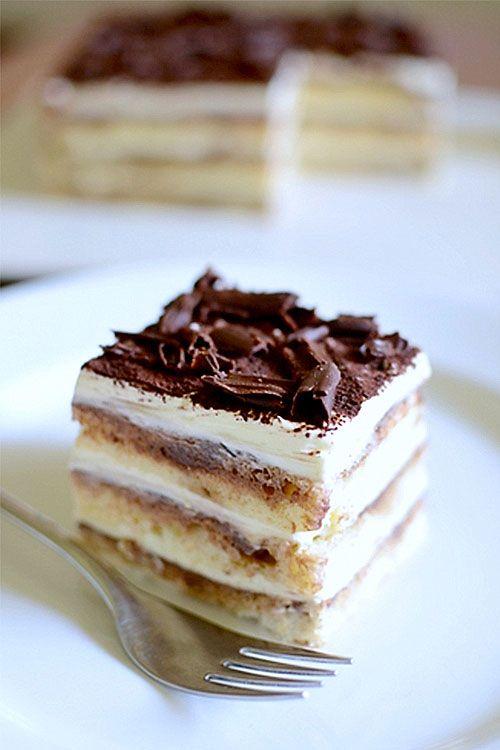 Tiramisu Cake Without Heavy Cream