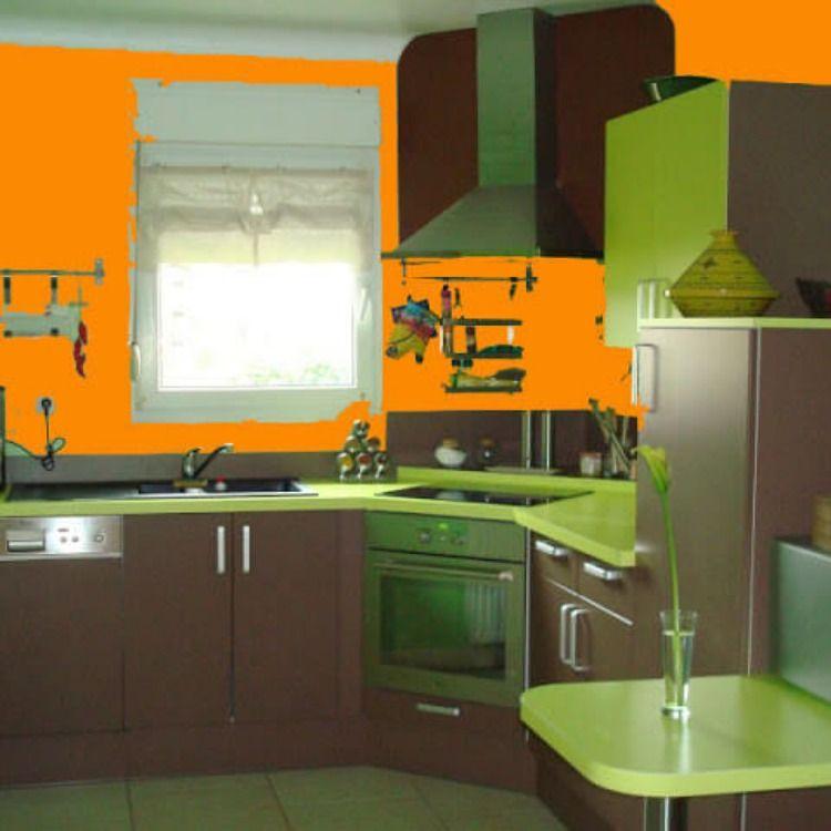 دهانات مطابخ 2021 اجمل ديكورات مطابخ باللون الاخضر In 2021 Beautiful Kitchens Decor Kitchen Decor