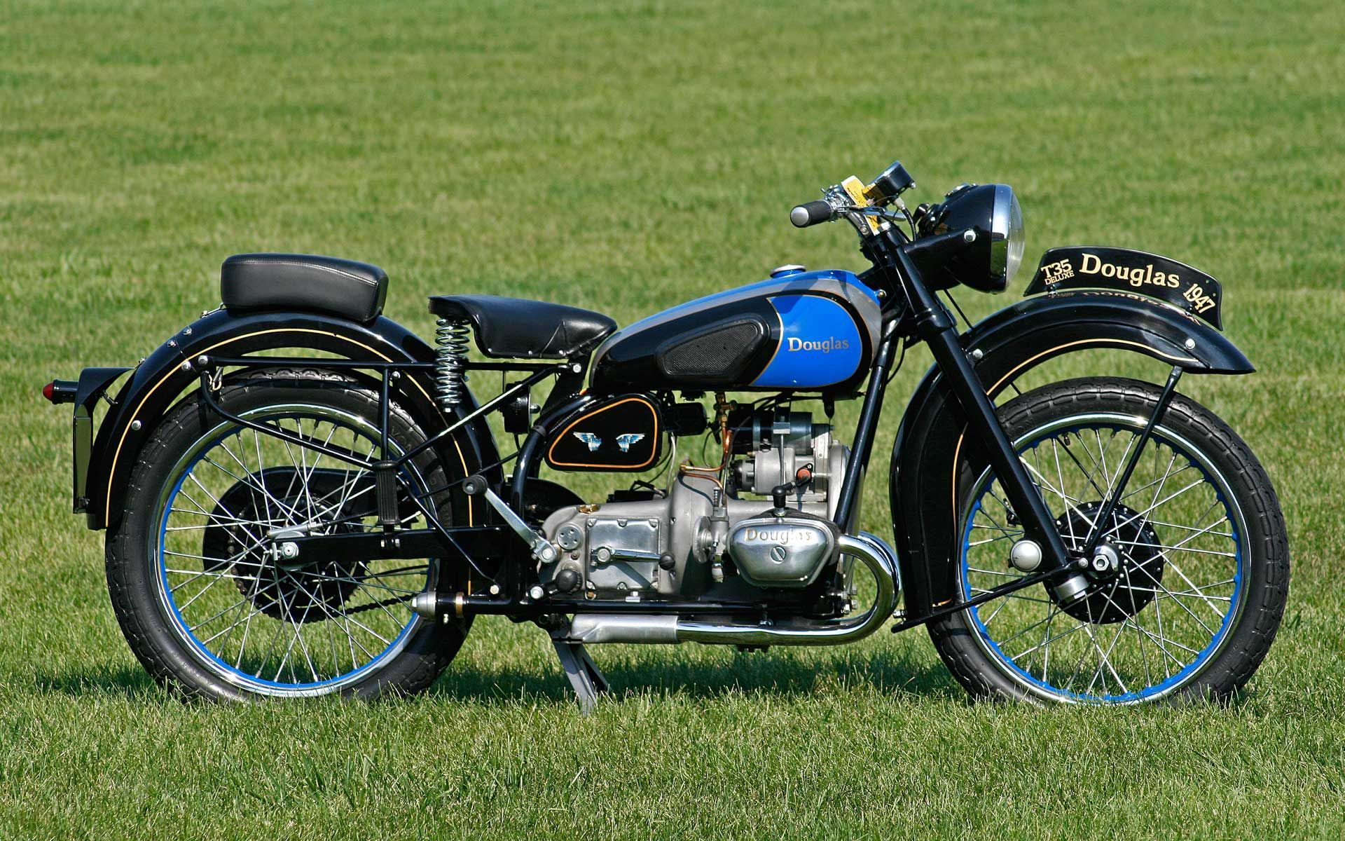 1947 Douglas T35 Deluxe A British Motorcycle Featured A Boxer Twin Engine And A Very Innovative Suspension System Motorrad