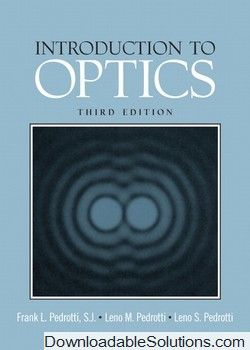 Solutions manual introduction to optics 3rd edition frank l solutions manual introduction to optics 3rd edition frank l pedrotti leno m pedrotti fandeluxe Image collections