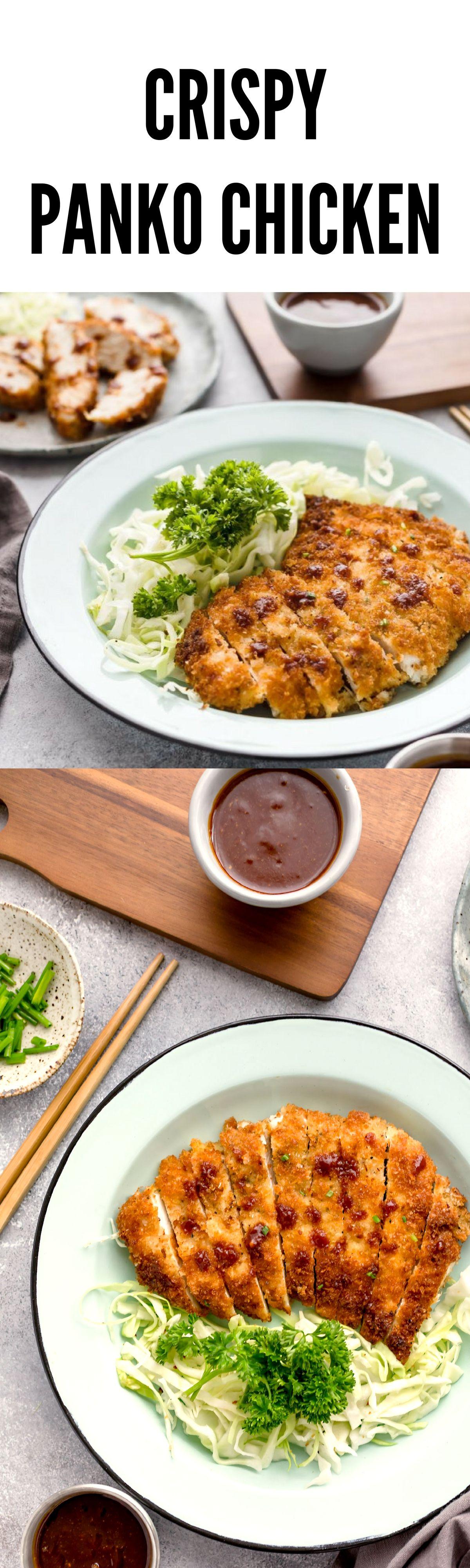 Panko Breaded Chicken Japanese Katsu This Consists Of