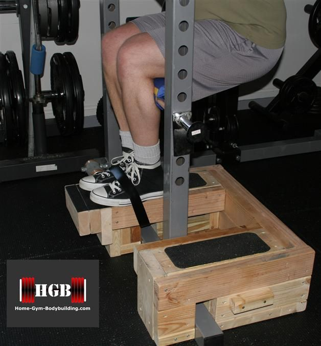 Diy Fitness Equipment Cleaner: Homemade Roman Chair Squat. Roman-chair Squats, An Old