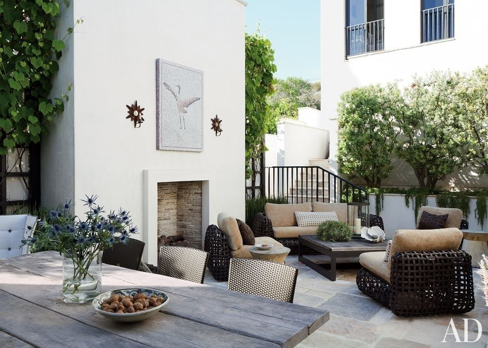 37 Stylish Patio & Outdoor Space Design Ideas | Outdoor ... on Living Spaces Outdoor Dining id=84848
