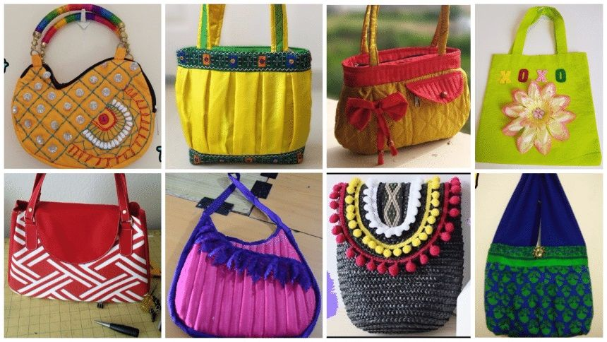 How To Make A Handbag At Home With Images Women Bags Fashion