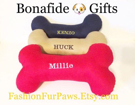 422c05c215be Dog Bone, Bone Pillow, Personalized Dog Bone, Large Dog Bone, Dog Pillow , dog  pillow with name, mon