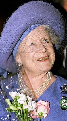 The Queen Mother That spiteful old soak dedicated herself