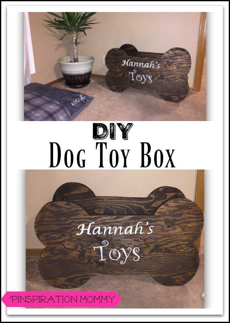 How to build a toy box for pet toys DogToys Diy dog
