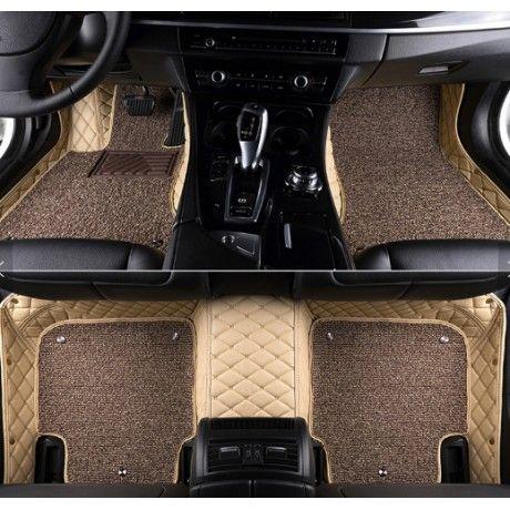 Honda City Idtech 2014 Premium Diamond Pattern 7d Car Floor Mats Set Of 3 Black Beige Honda City Custom Car Floor Mats Waterproof Car