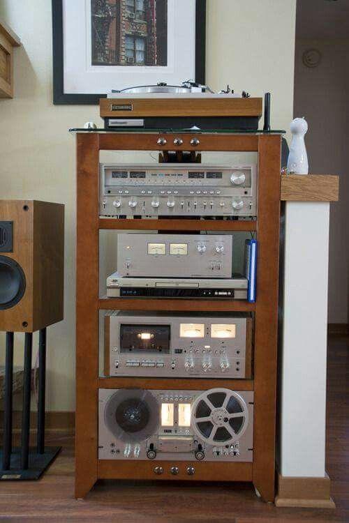 Pioneer       Stereo       System         Pioneer     120      Audio       rack        Audio