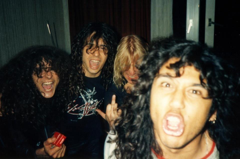 metal Slayer Dave Lombardo Jeff Hanneman Kerry King Tom ... Kerry King Meme