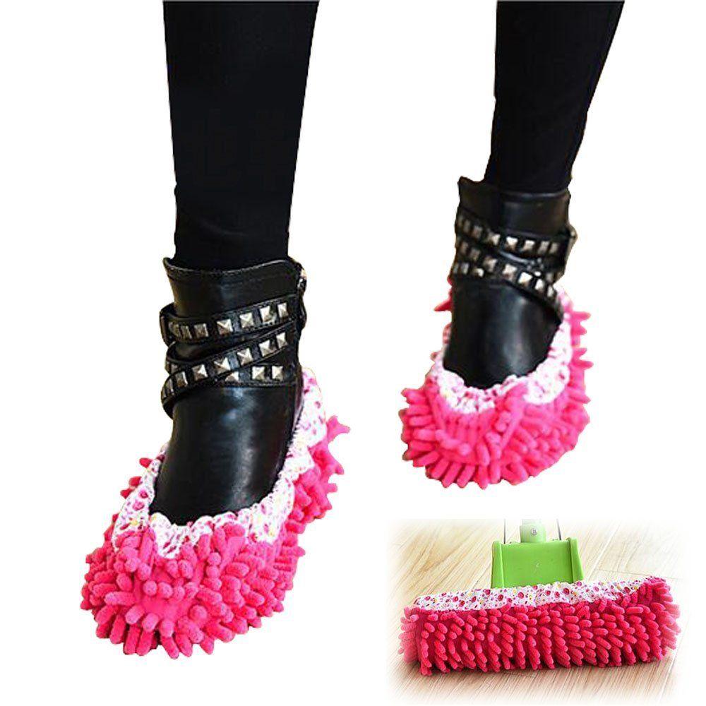 Paar Hausschuhe, abnehmbar, scheuert die Böden Pantoffel reinigen ...