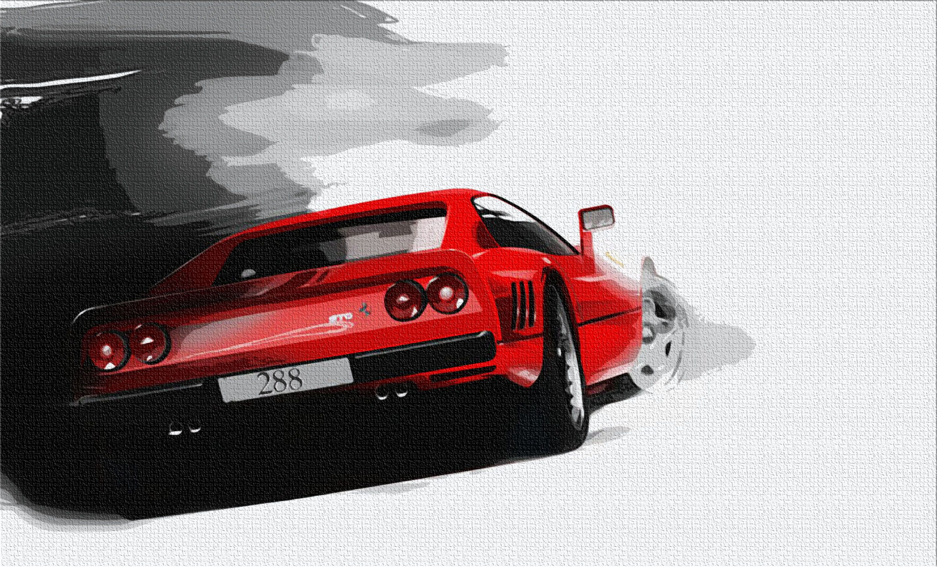 articles drama delorean automotive and ferrari art artist brings grant petrolicious to life paintings thomas
