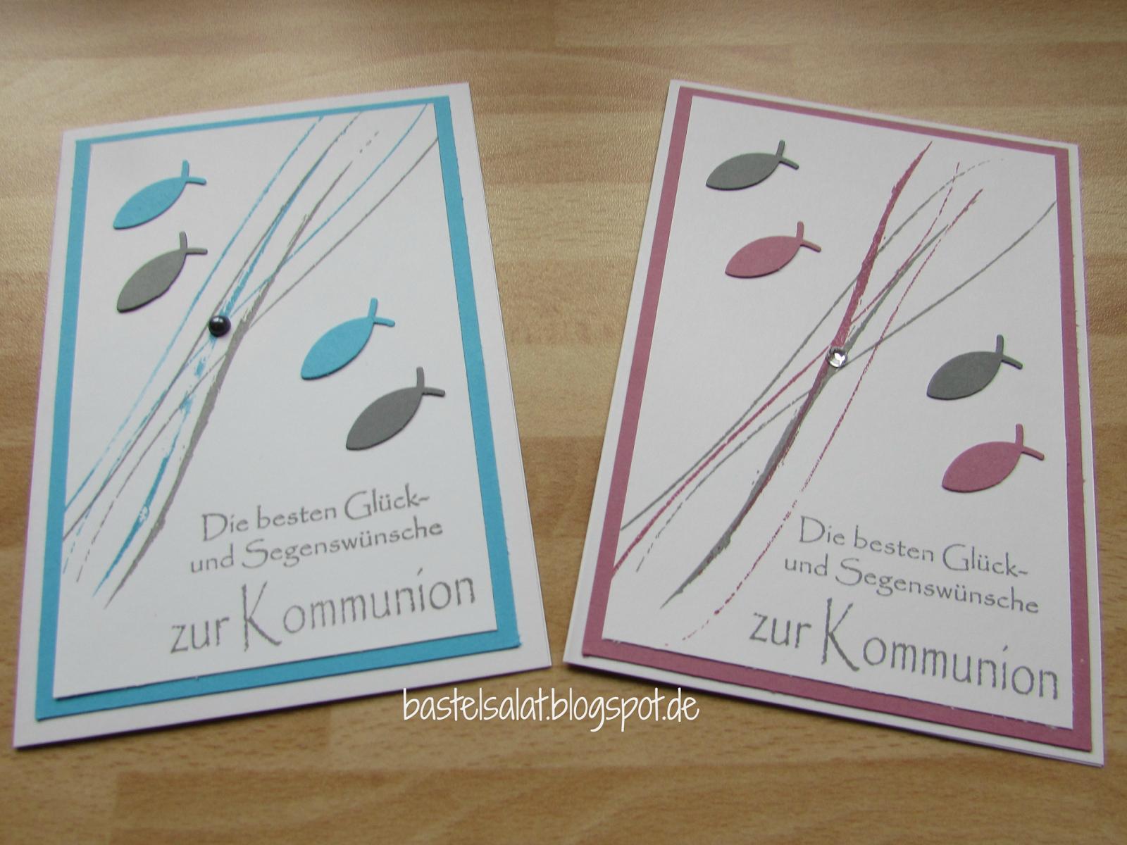 Pin Von Andrée Auf Kommioun Karten Basteln Kommunion