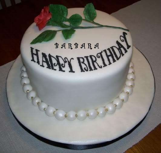 Barbara Malloys Page The  Day Reality Challenge Cakepinscom - Birthday cake barbara