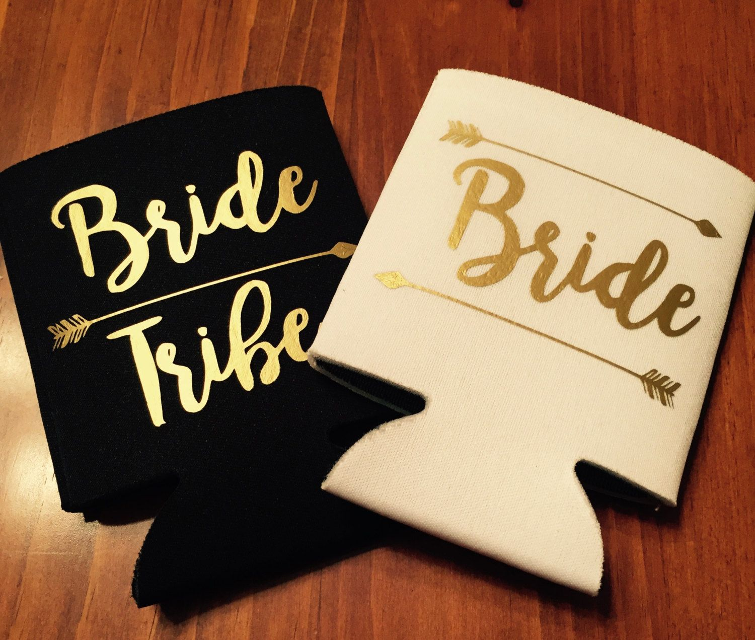 Bride tribe bachelorette party can coolers tribe can