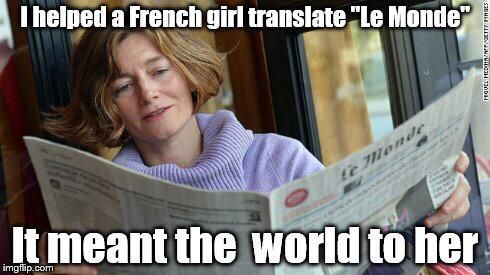 Bromberg Associates On Twitter French Puns Funny French Jokes