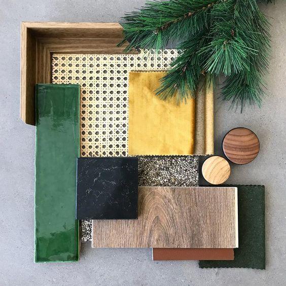 Moodboard legno nel 2019 colori degli interni for Combinazioni colori arredamento