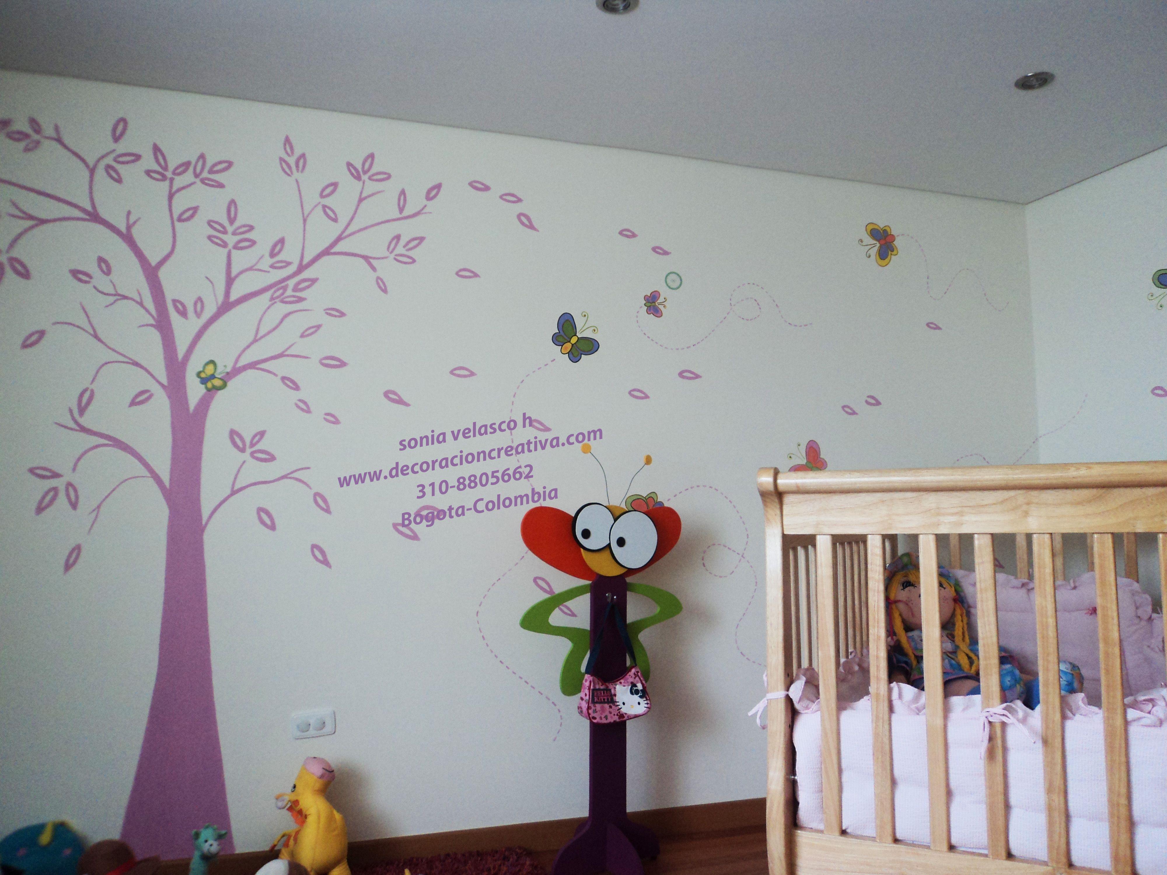Murales Pintados Directamente Sobre La Pared Llamanos 310 8805662  # Muebles Velasco