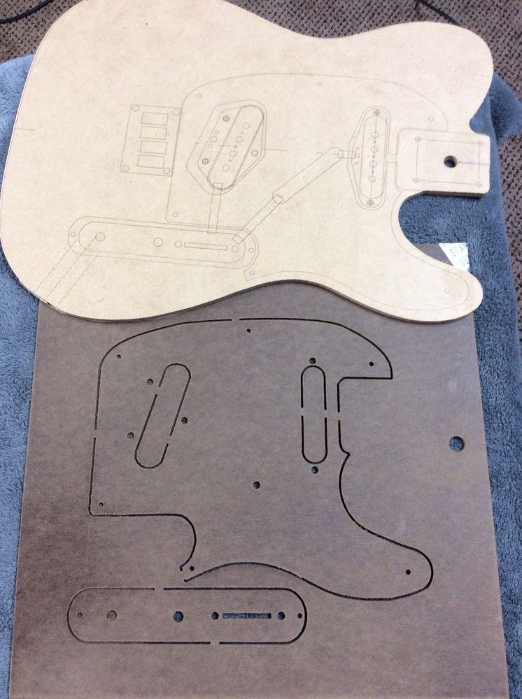 Tele Tenor Guitar Template W Pick Guard And Control Template Ebay Celine Luggage Bag Tenor Guitar Top Handle Bag