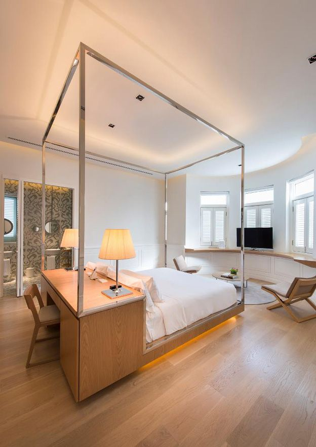 Hotel Room Ideas: A Boutique Hotel Designed Around The Idea Of An Old
