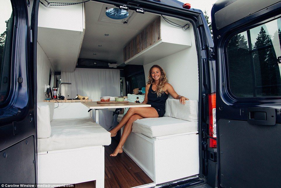 Student Lives In A 7 000 Van To Reduce Her Carbon