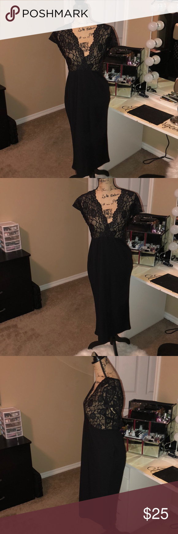 Boohoo Black Fitted Dress In Size 14 Black Dress With Sheer Top Fitted Brand New With Tags Size 14 Boo Hoo Dresses Fashion Fitted Black Dress Fashion Design [ 1740 x 580 Pixel ]