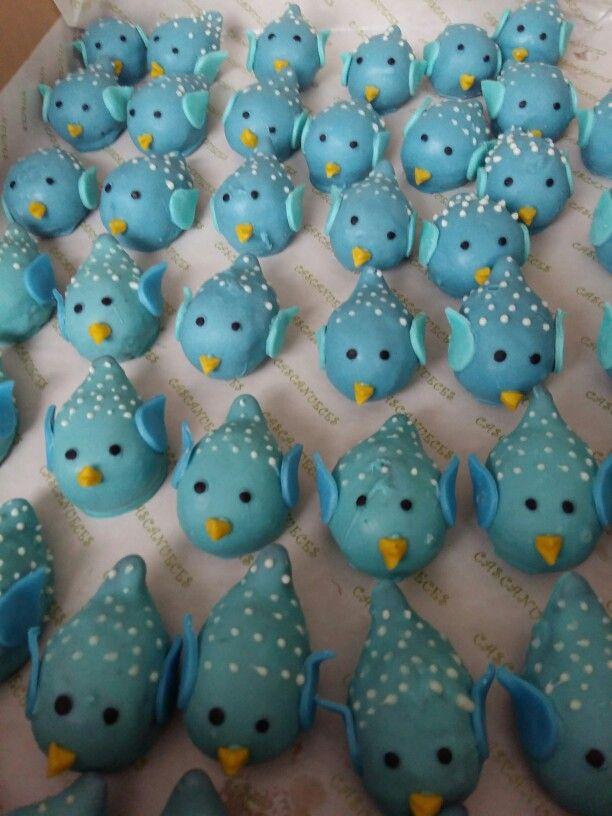 Bird popcakes