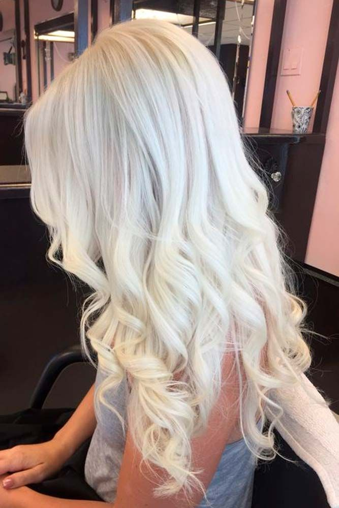 blonde hair color and styles 50 platinum hair shades and highlights for 2018 3980 | ea023dad887b8388c3c32c77de53caec