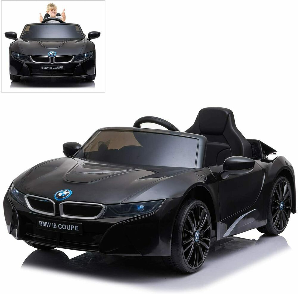 Kids Ride On Supercar Bmw I8 Coupe 12v 2x25w Motors Rc Mp3 In Led Lights 3mph Unbranded In 2020 Kids Ride On Super Cars Bmw I8