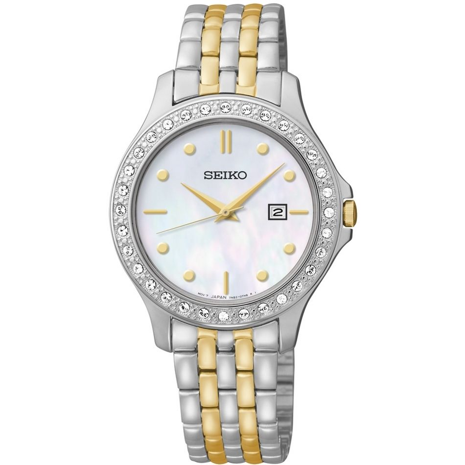 The seiko dress watch couples class with elegance and precision